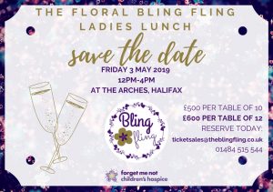 Bling Fling- Save The Date 2019
